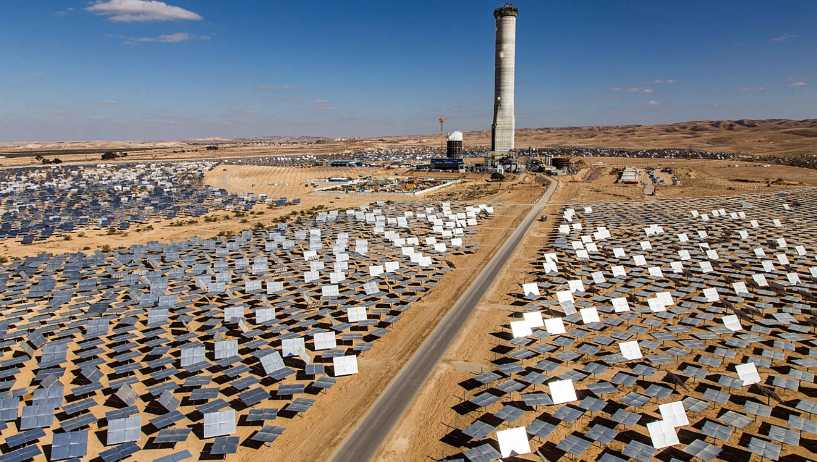 Israel's Megalim solar thermal power plant starts operations