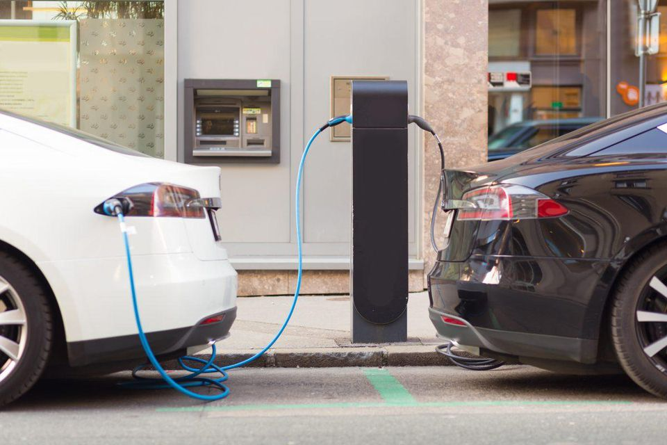 Home car charging station