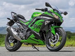 Kawasaki Ninja 300 with electric powertrain patented-1