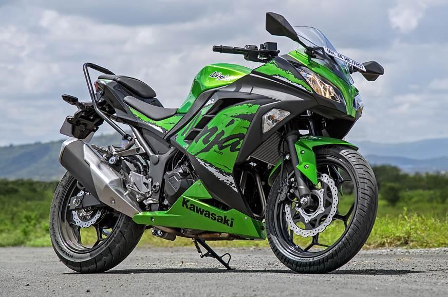 Kawasaki Ninja 300 with electric powertrain patented