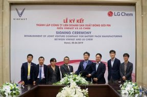 LG Chem, VinFast set up lithium-ion battery JV in Vietnam