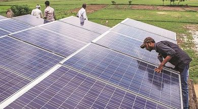 Renewable energy capacity addition tumbles 49% during Apr-Feb period