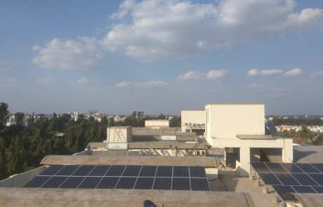 South India's Biggest Solar rooftop Project on apartment