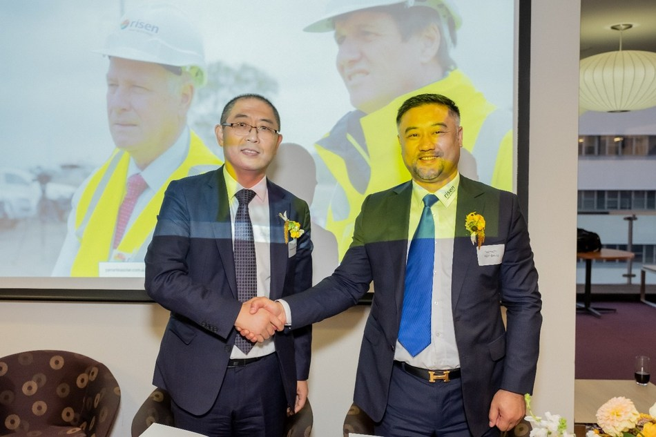 Chinese solar module manufacturer Risen Energy forms strategic partnership with Providence Asset Group to jointly expand business into New South Wales, Australia