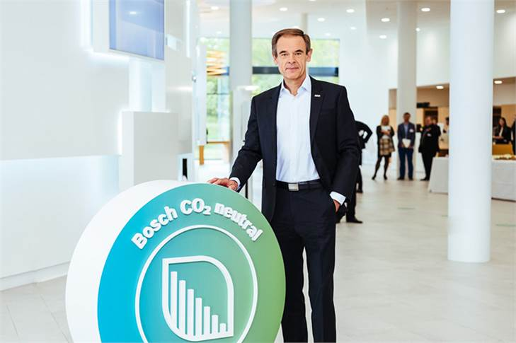 Bosch targets carbon neutrality at over 400 plants worldwide by 2020