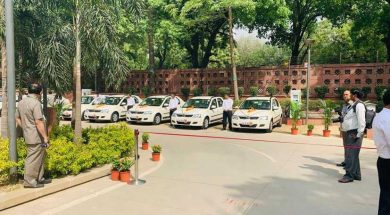Fast Chargers For Electric Vehicles Installed At Parliament House