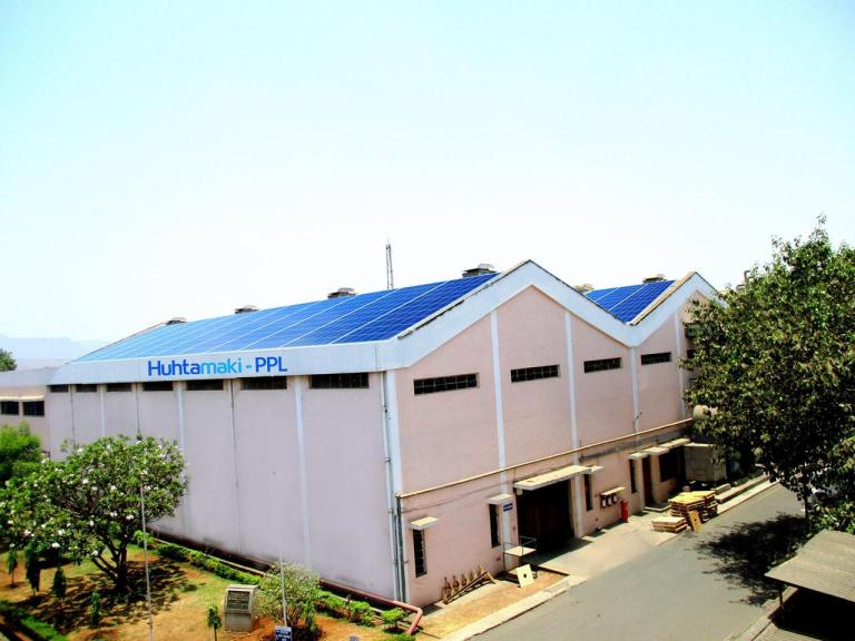 HPPL installs rooftop solar power units at it's manufacturing plants
