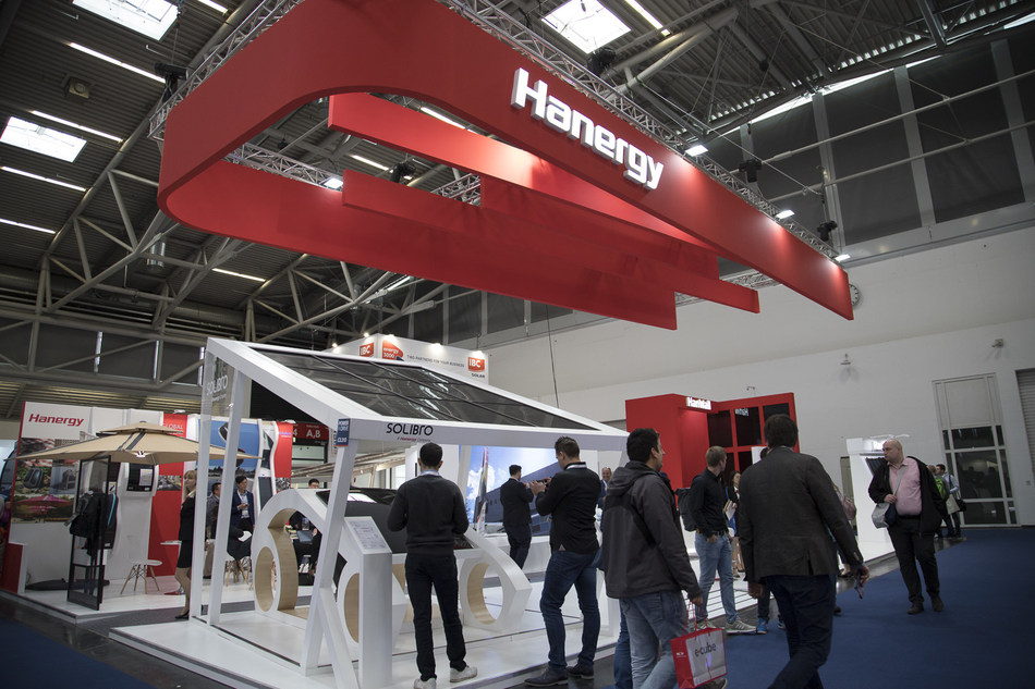 Hanergy Showcases its Pioneering Energy Solutions at the Intersolar Europe Exhibition 2019