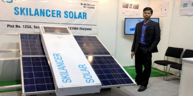 IIM-Lucknow Incubated Skilancer Raises Seed Funding for its Robotic Water-less Solar Panel Cleaners