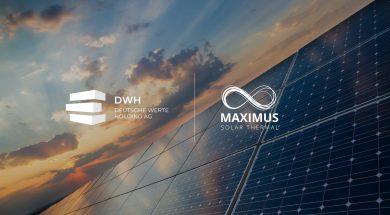Deutsche Werte Holding MAXIMUS TERRA Logo