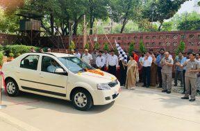 Lok Sabha Secretary-General Inaugurates Electric Charging Stations in Parliament