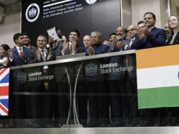 London Stock Exchange holds market open ceremony for KIIFB's masala bond listing
