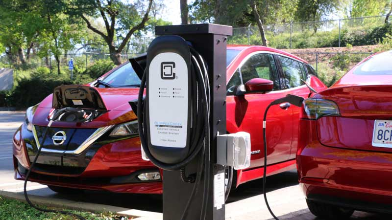 New home charger can charge two electric cars at once