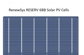 RenewSys 6BB Solar PV Cell