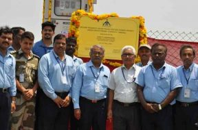 Solar power plant commissioned at Tirupati airport