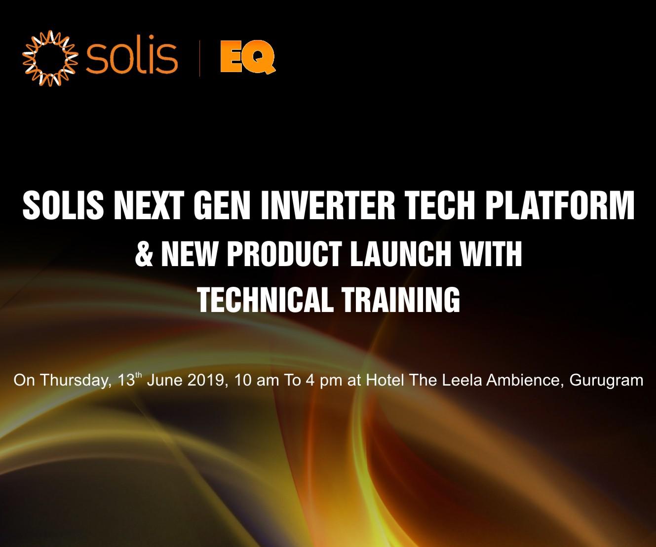 Solis Next Gen Inverter Tech Platform & New Product Launch