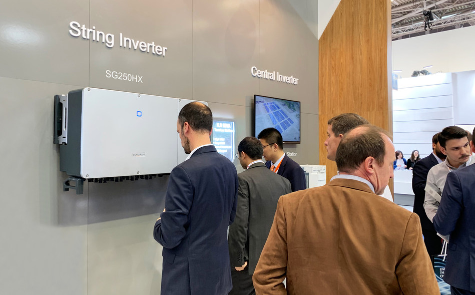 Sungrow Unveils the World's Most Powerful String Inverter at Intersolar Europe 2019