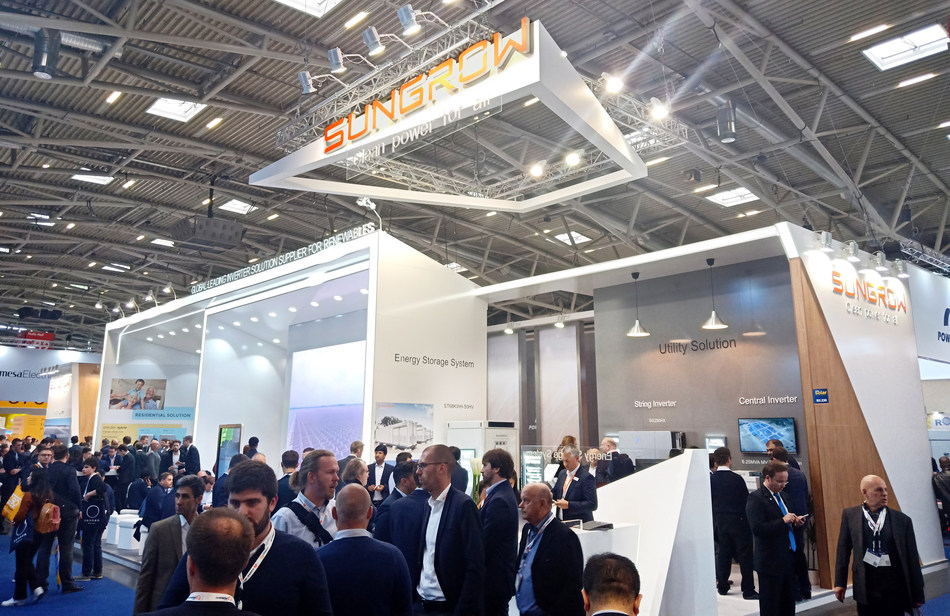 Sungrow's Comprehensive Product Lineup Shines at Intersolar Europe 2019