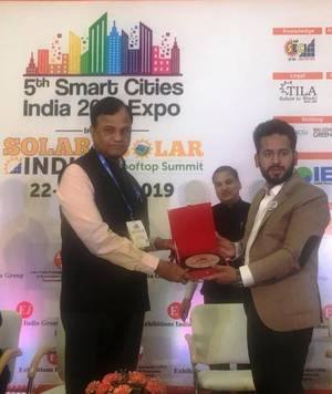 TSSPDCL gets 'Smart Cities India Award'