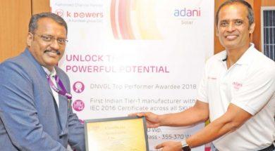 Tamil Nadu emerging as a solar power producing state- Ramesh Nair