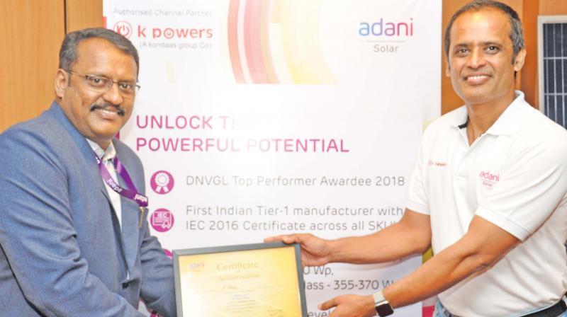 Tamil Nadu emerging as a solar power producing state: Ramesh Nair