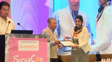 Tanya_EQ_Woman of the year in Solar_Award1