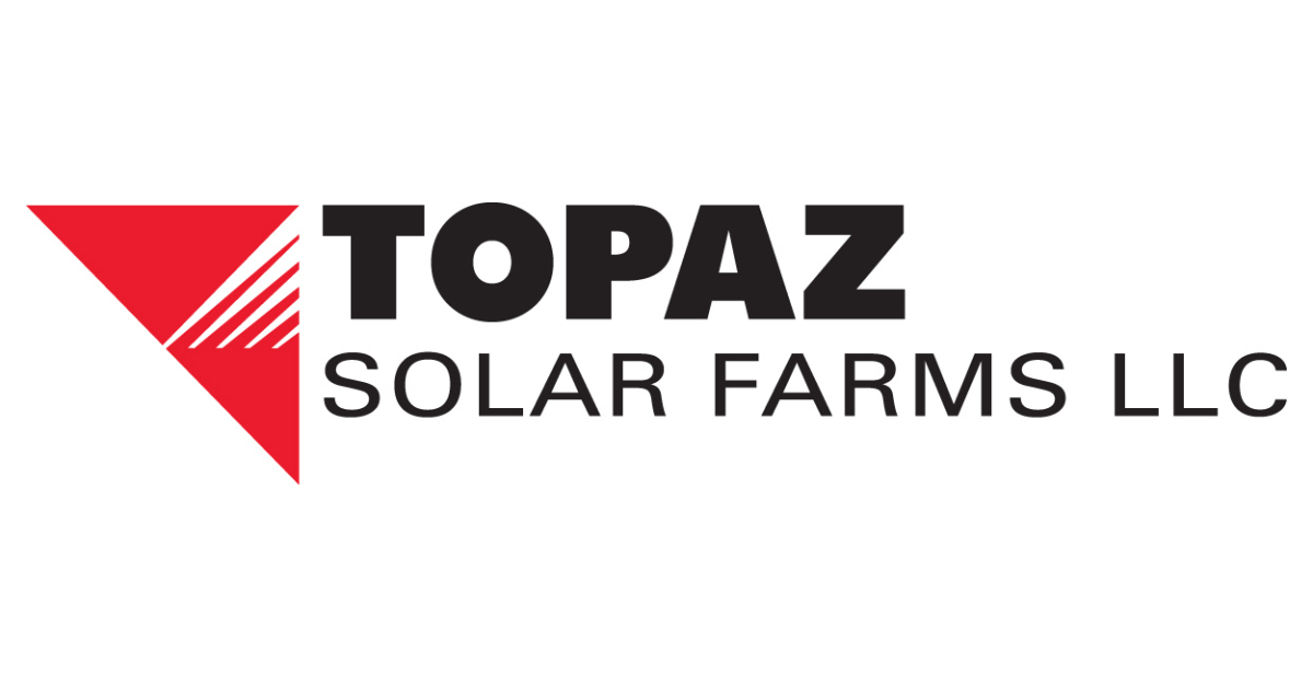 Topaz Solar Farms Receives May Payment From PG&E