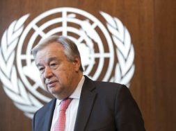 UN chief Guterres says world 'not on track' with climate change