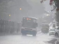 Watch- Heavy rains, hailstorm hit parts of Bengaluru