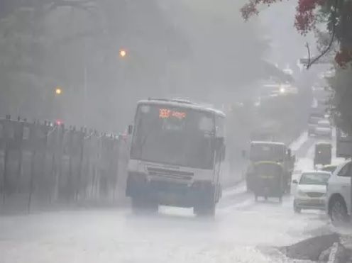 Watch: Heavy rains, hailstorm hit parts of Bengaluru