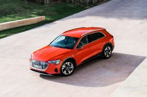 AUDI RECALLS SOME E-TRON SUVS OVER A BATTERY ISSUE