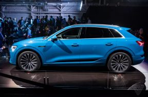Audi recalls its first electric car in the US due to battery fire risk