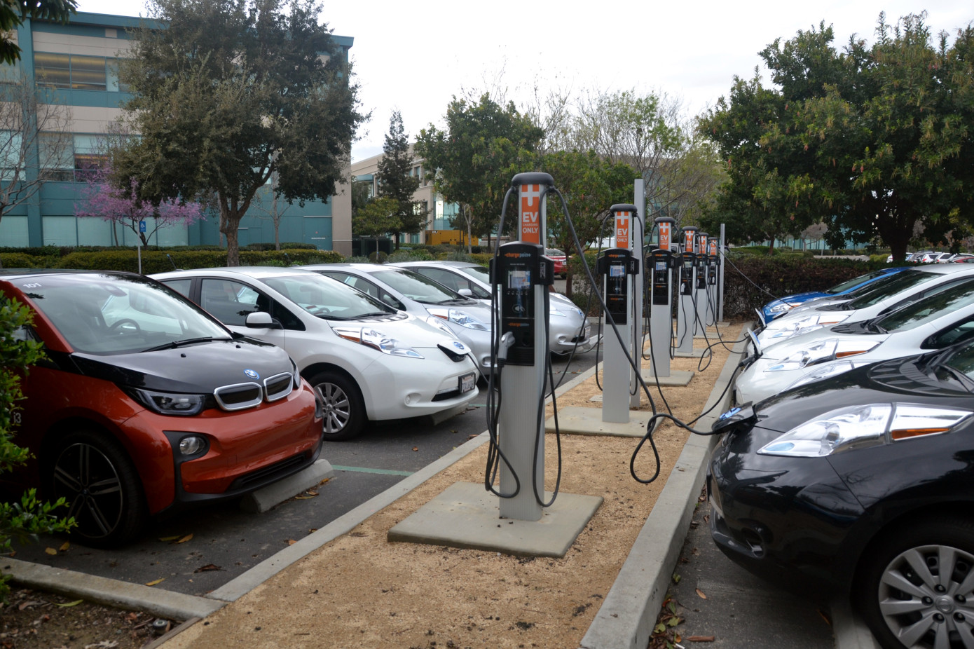Charging an electric car in America is about to get a little less painful