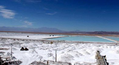 Chile's Lithium Export Price Plunges