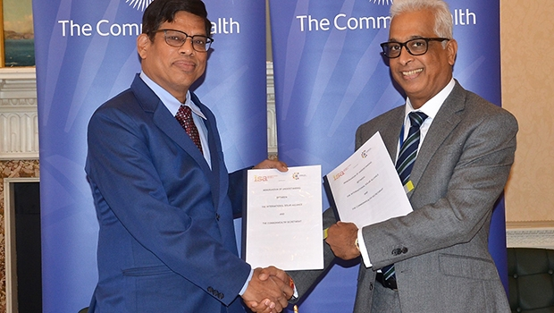 Commonwealth and ISA join forces to advance solar energy