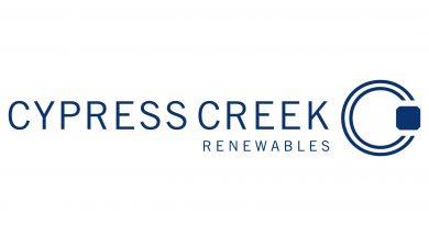 Cypress Creek Renewables Blue Logo