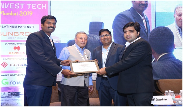 Godrej Electricals & Electronics wins the award for ''Solar Project Innovation of the year – Engineering''