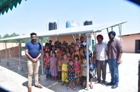 Hartek Solar installs 10-kWp rooftop solar plant at orphanage for girls in Kharar (1)