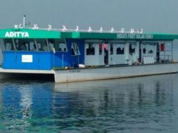 India's first solar cruise vessel to be launched