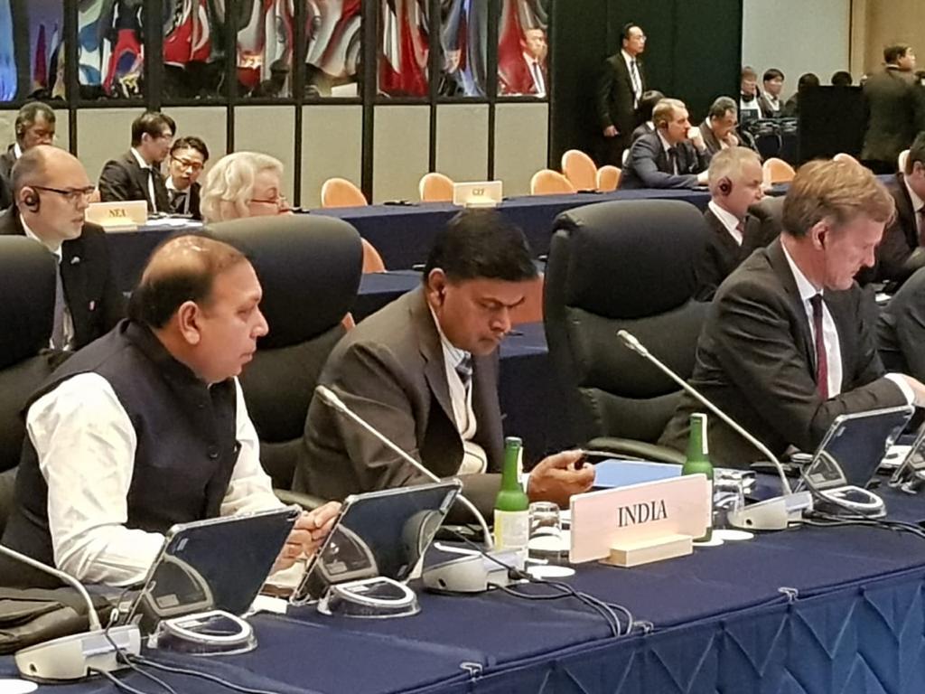 India inching towards meeting Paris Agreement targets: RK Singh at G20 ministerial meet