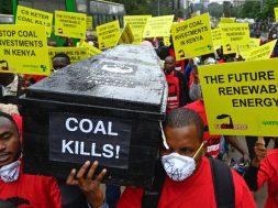 Kenyans protest bid to build East Africa's first coal plant