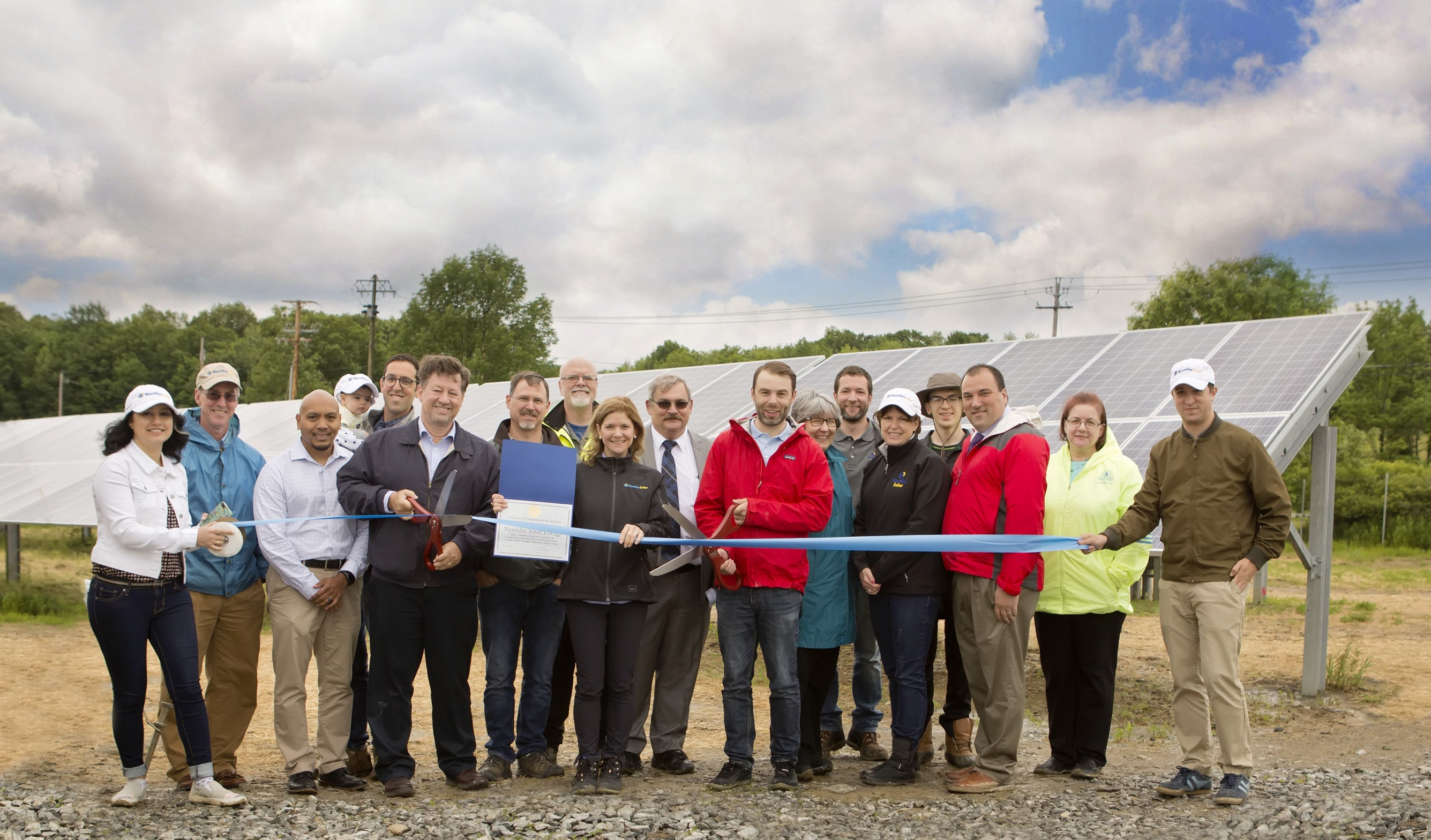 Nautilus Solar Energy Announces Completion Of Its First Community Solar Project In Orange County, New York