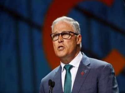 Presidential hopeful Inslee unveils plan to reclaim US leadership on climate issue