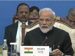 SCO Summit- PM Modi calls for focus on alternate energy, economic cooperation