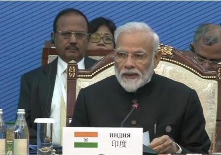 SCO Summit: PM Modi calls for focus on alternate energy, economic cooperation
