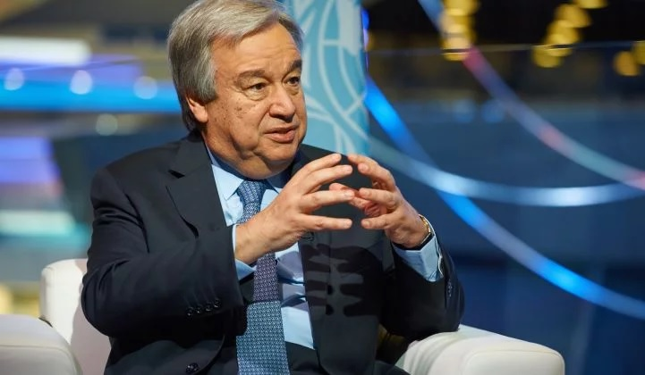 UN Chief Guterres: The Status Quo on Climate Policy 'Is a Suicide'