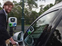 Victoria first- School trials solar-powered electric car charger