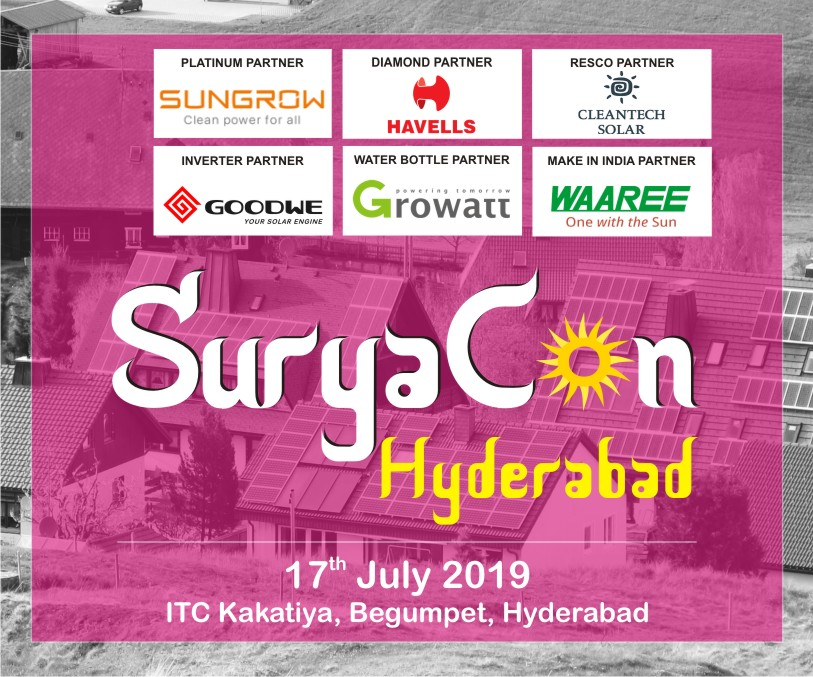 Hyderabad EQ – Suryacon Conference on July 17, 2019 at Hotel