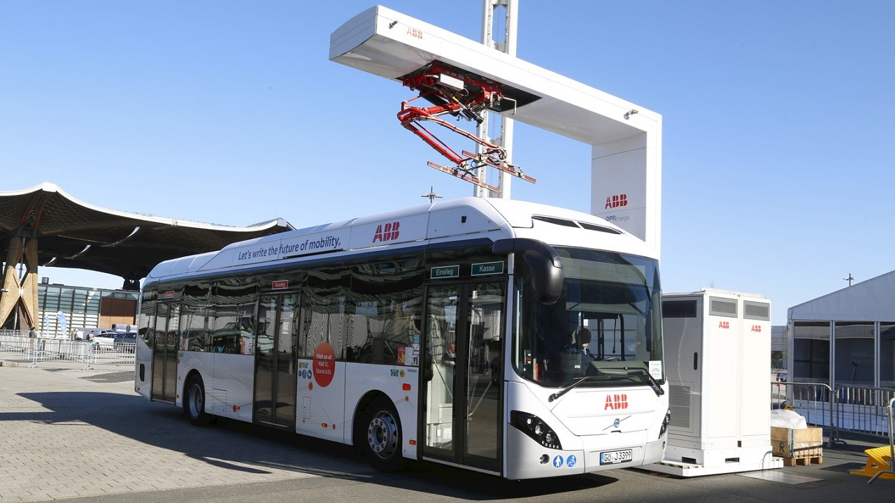 ABB supports greater interoperability in market for electric buses and trucks