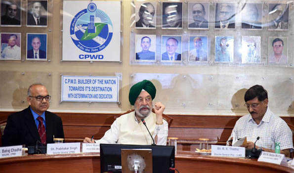 CPWD has emerged as a market leader in sustainable infrastructure development & adoption of green technologies: Hardeep S Puri